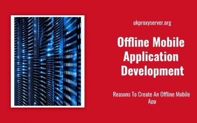 Offline Mobile Application Development