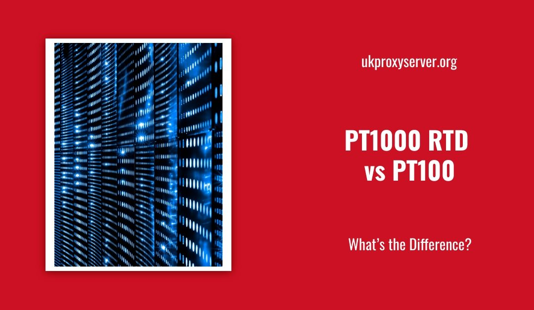pt1000 rtd vs pt100 rtd is displayed against a red background.